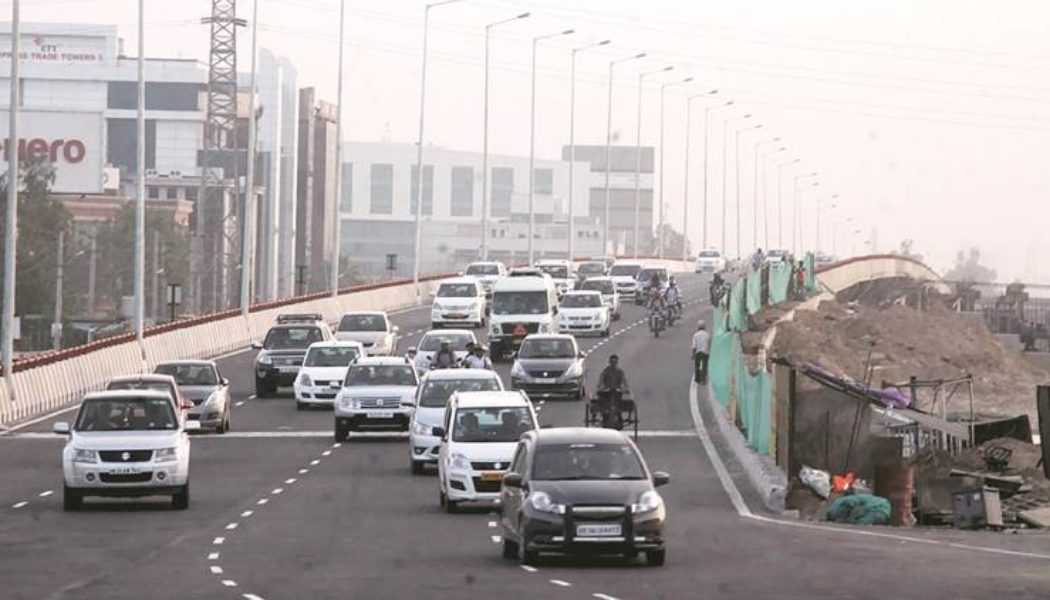 CM Manohar Lal Khattar inaugurates the much awaited Hero- Honda Chowk flyover