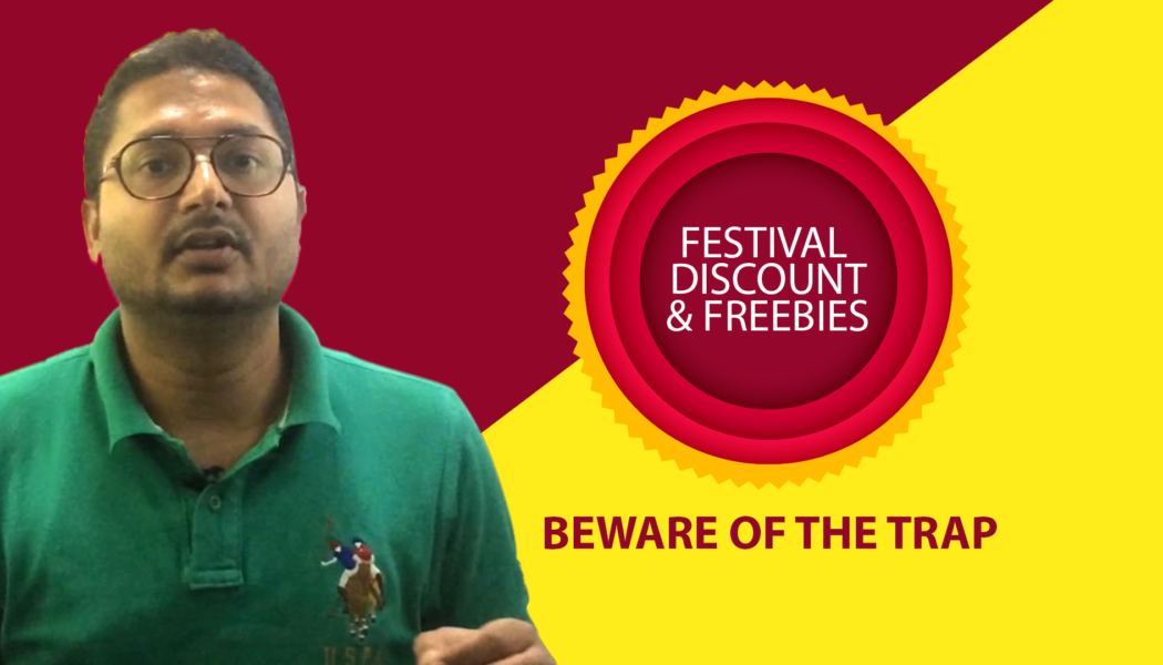 How not to get lured by freebies during Diwali?